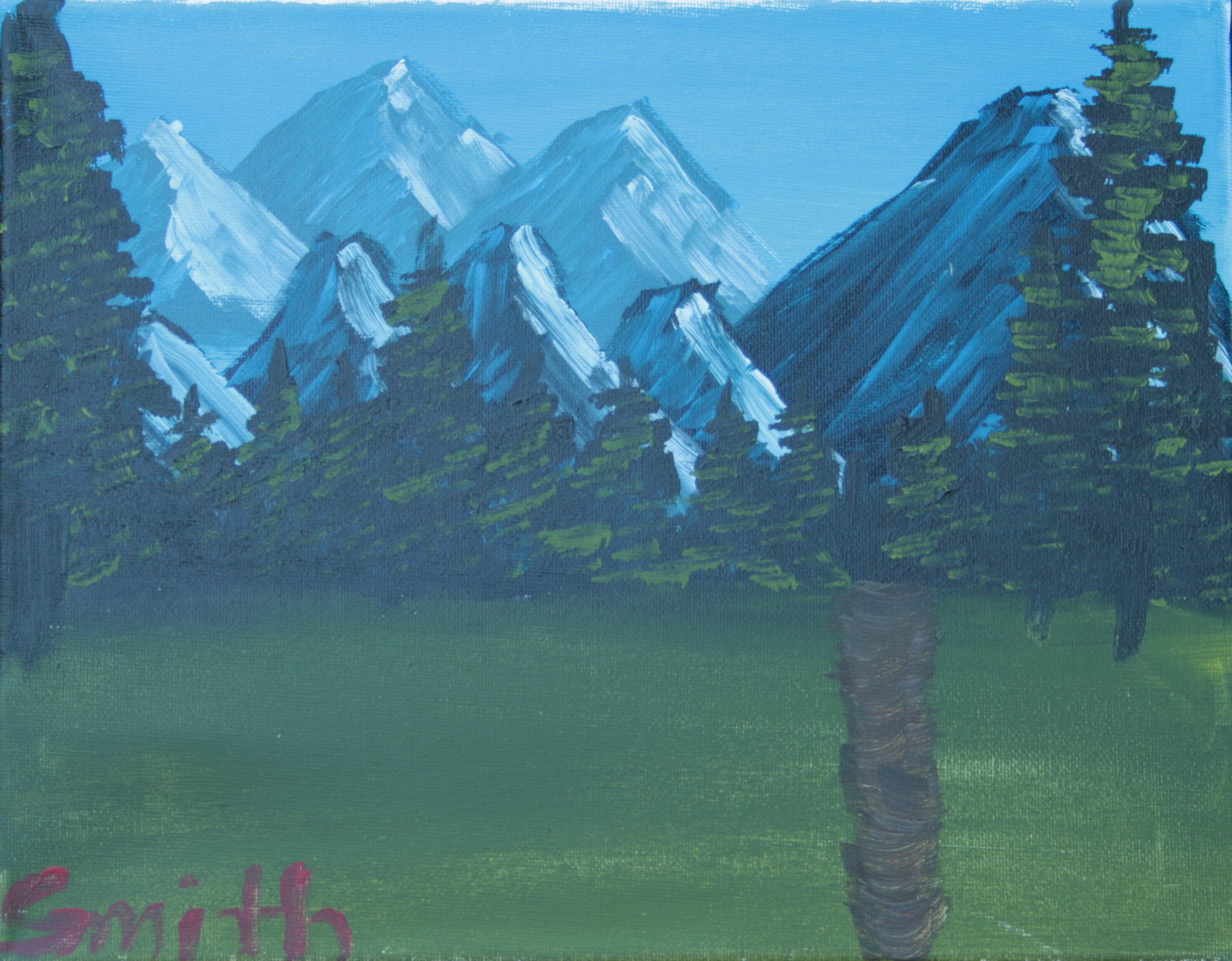 (2) Distant Mountains