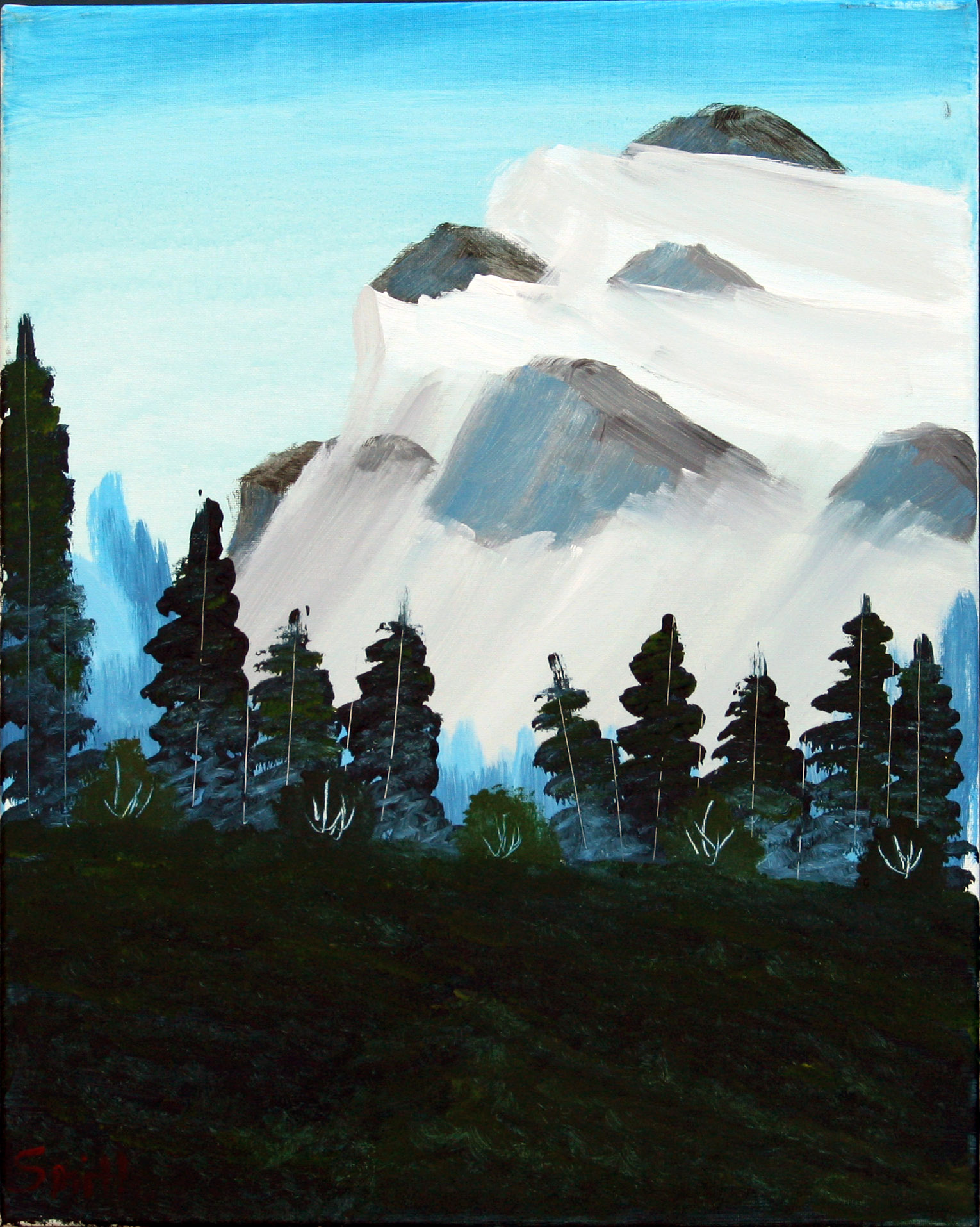 Glacier-Mountain