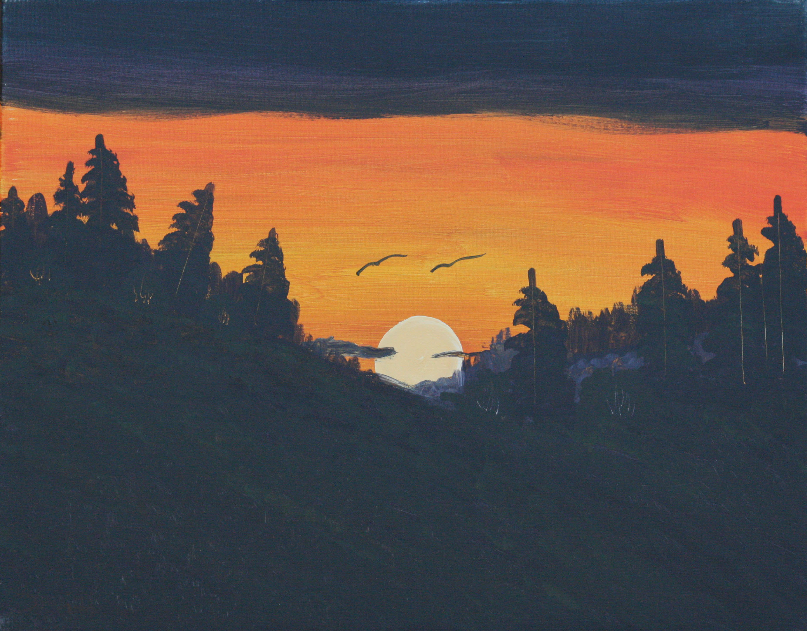 Sunset-Over-the-Hills