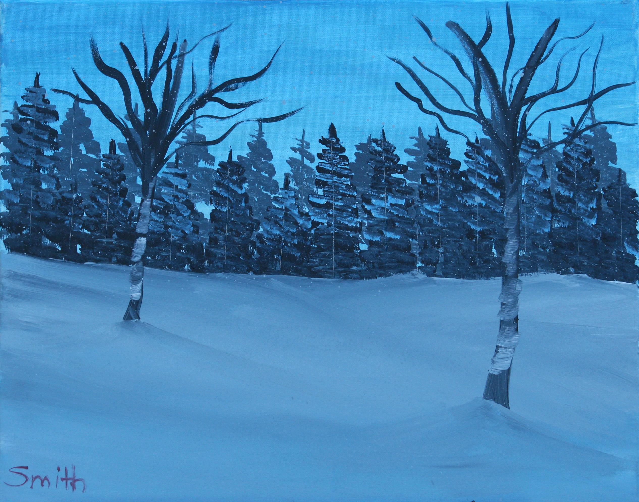 Winter-Stillness