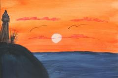 Lighthouse-Sunset